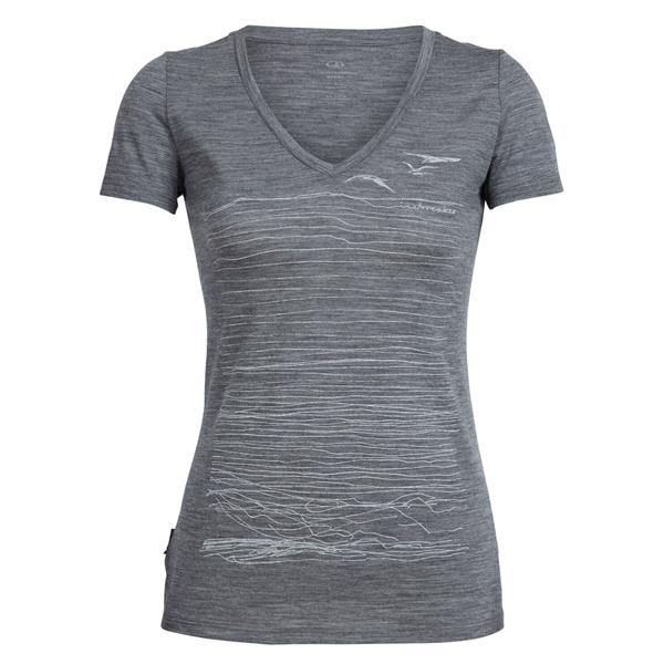 Icebreaker - Women's Tech Lite V Coast T-Shirt