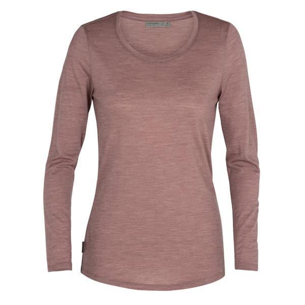Icebreaker - Women's Sphere Long Sleeve Low Crewe Shirt