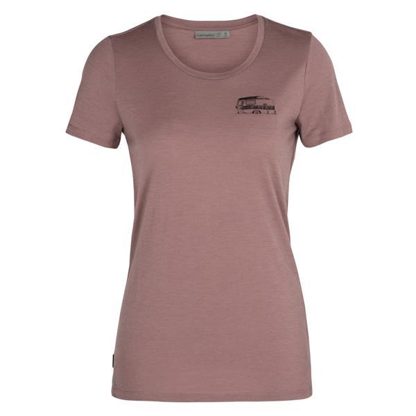 Icebreaker - Women's Merino Tech Lite Caravan Life T-Shirt