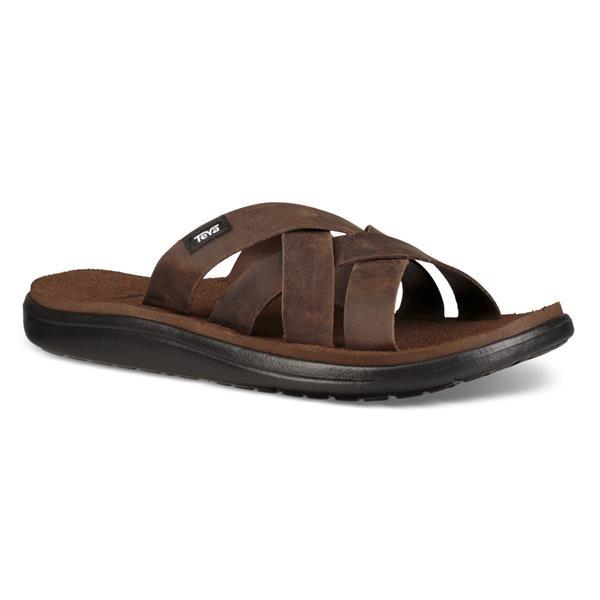 Teva - Sandales Voya Slide Leather pour homme