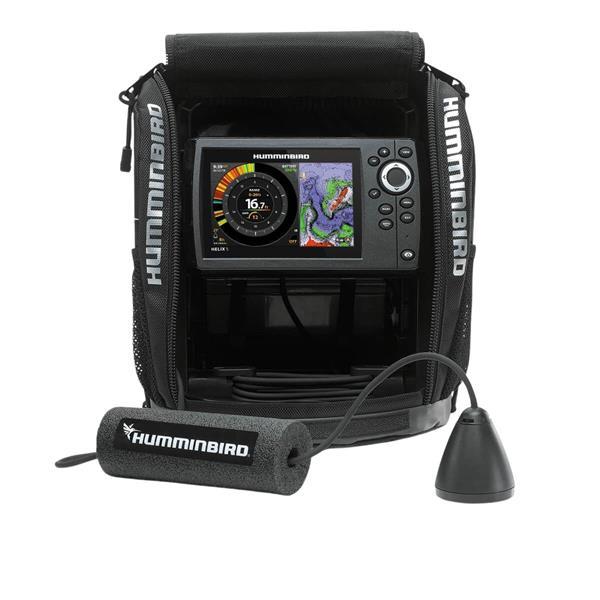 Humminbird - Sonar GPS Ice Helix 5 Chirp G2, toutes saisons