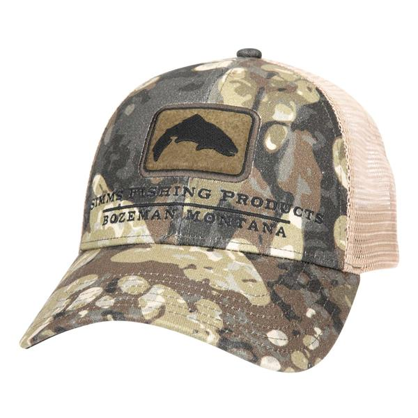 Simms - Trout Icon Trucker Hat