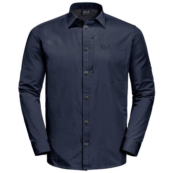 Jack Wolfskin - Men's Lakeside Roll-Up Shirt