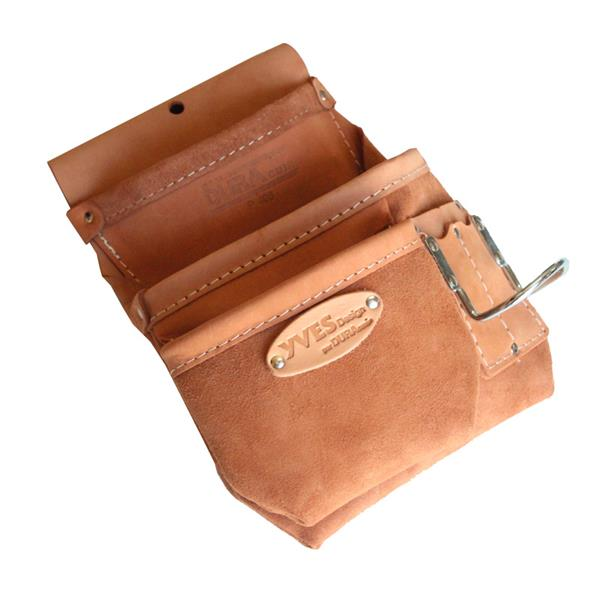 Dura Cuir - 3-Pocket Left Side Nail Pouch