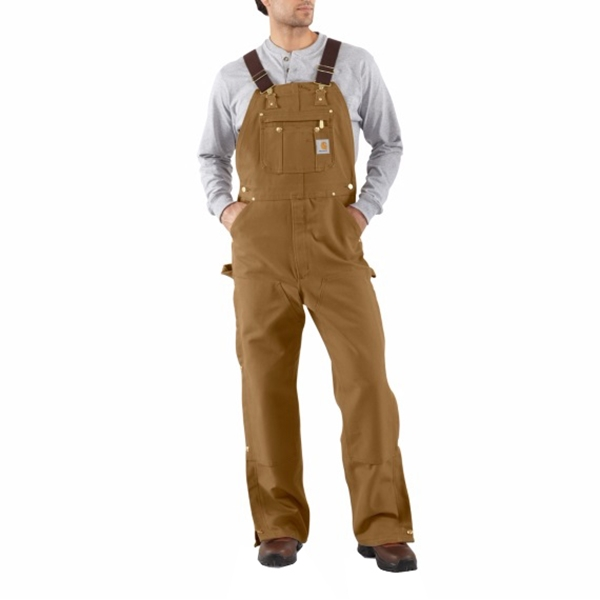 Carhartt - Duck Zip-to-Thigh Bib Overall