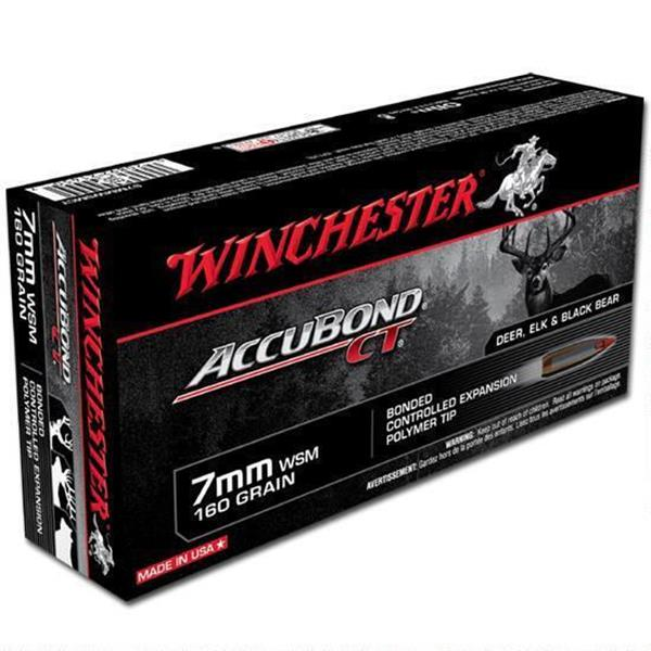 Winchester - Balles Expedition Big Game 7MM WSM 160 GR.