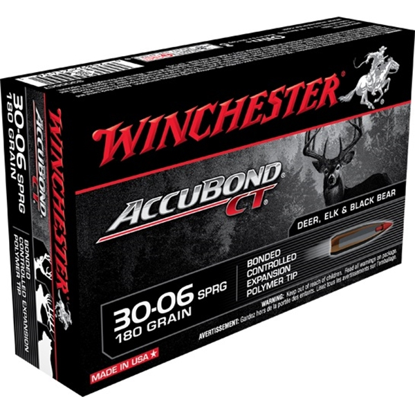 Winchester - Balles Accubond CT .30-06 Springfield 180gr