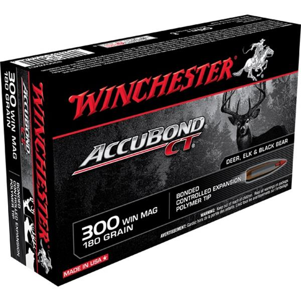 Winchester - Balles Accubond CT .300 Win Mag 180gr