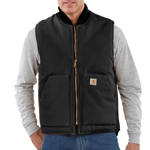 Carhartt - Duck Vest / Artic Quilt Lined