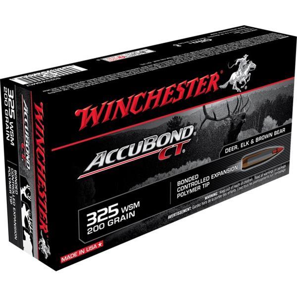 Winchester - Balles Accubond CT .325 WSM 200gr