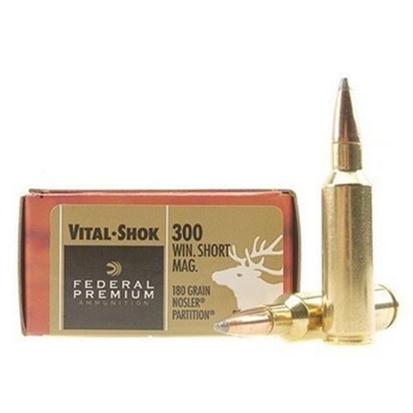 Nosler Partition 300 Winchester Short Magnum 180gr Bullets