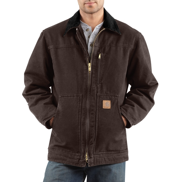 Carhartt - Men's Sandstone Ridge Coat / Sherpa Lined