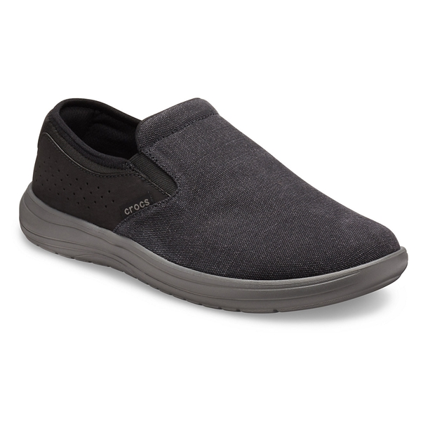 Crocs - Chaussures Reviva en toile pour homme