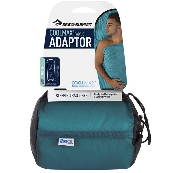 Sea to Summit - Drap pour sac de couchage Adaptor Coolmax