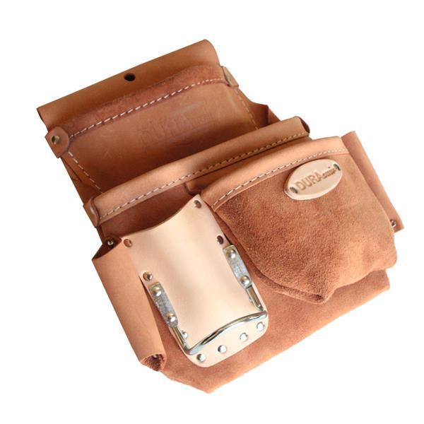 Dura Cuir - Sac à clous à 3 poches avec boucles côté droit