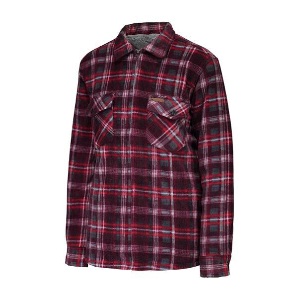 10/4 Job - Women's 25-81-W Plush Zipper Long Sleeve Fleece Shirt