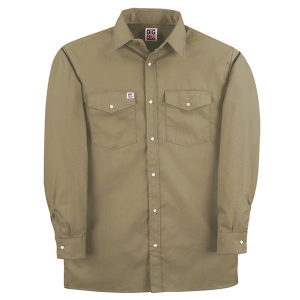 Big Bill - Men's 247 Snap Work Shirt Long Sleeve