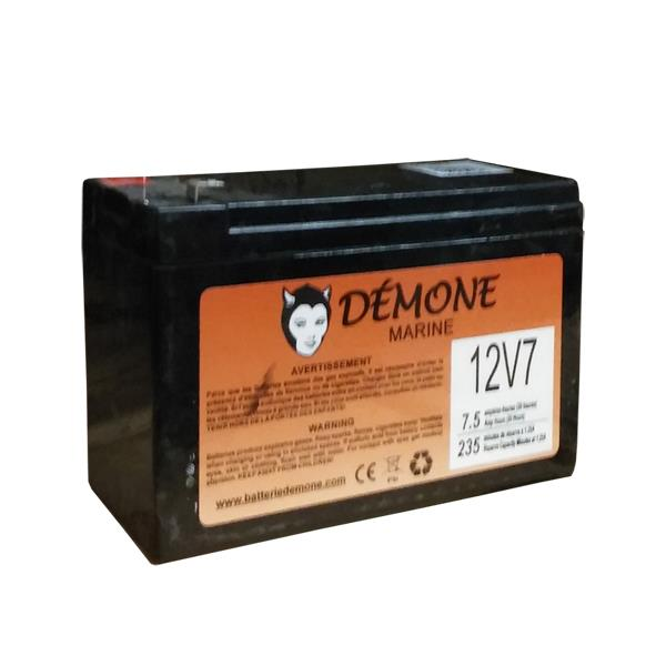 Démone - 12V7 Sonar Battery