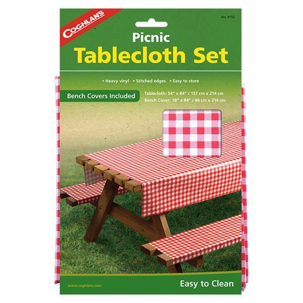 Coghlan's - Ensemble de nappe pour table à pique-nique