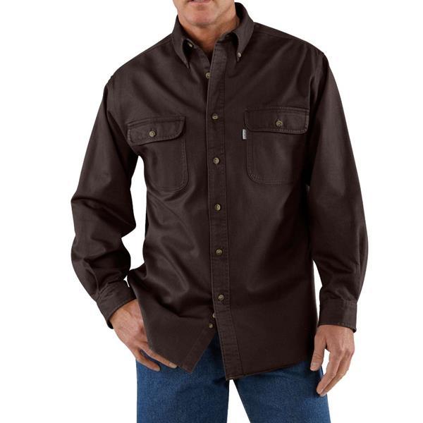 Carhartt - Men's Sandstone Twill Shirt