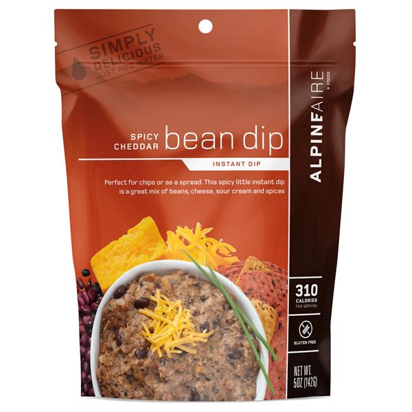 Alpine Aire Foods - Spicy Cheddar Bean Dip