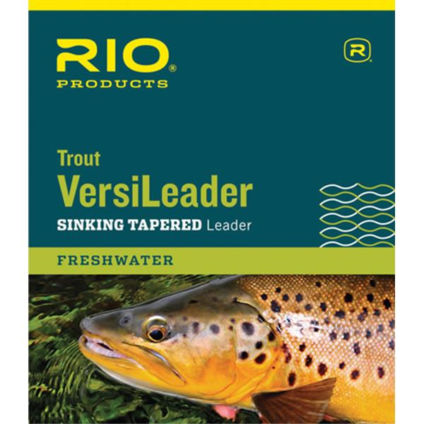 Rio Products - Bas de ligne Trout Versileader