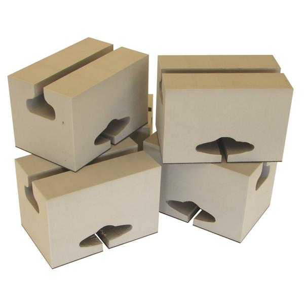 bloc de mousse de 6 pouces pour canot malone auto racks. Black Bedroom Furniture Sets. Home Design Ideas