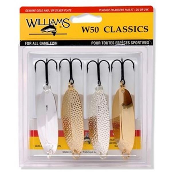 Williams - Ensemble de 4 cuillères Classic W50