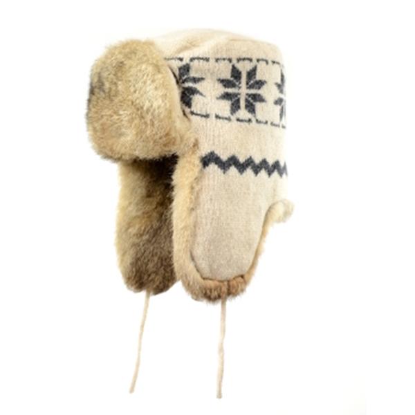 Crown Cap - Chapeau d'hiver en laine de mouton