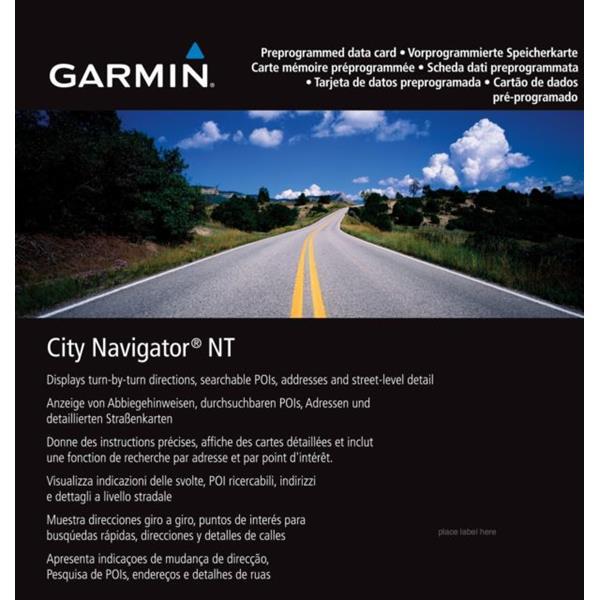 Garmin - GPS City Navigator Europe NT Preprogrammed Map