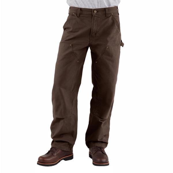 Carhartt - Pantalon de travail à devant doublé Dungaree