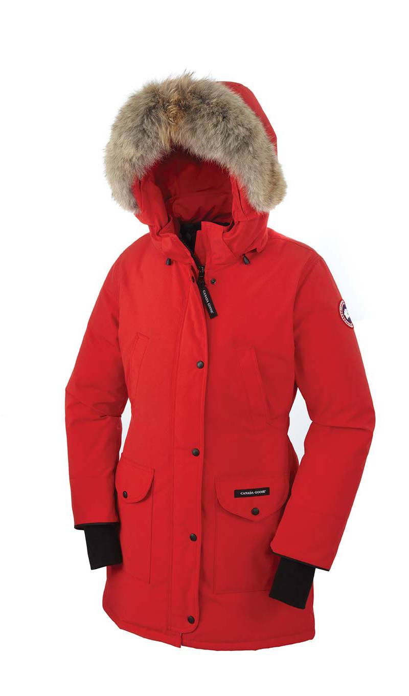manteau canada goose femme rouge
