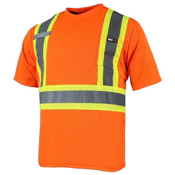 10/4 Job - T-shirt de sécurité à manches courtes 25-400