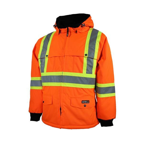 10/4 Job - Manteau doublé avec bandes réfléchissantes pour homme