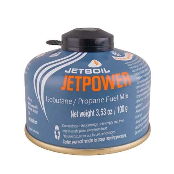 Jetpower 100 Isobutane Fuel Canister - Jetboil   Latulippe