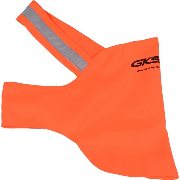 GKS - Dossard orange pour chien