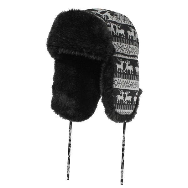 GKS - Chapeau d'hiver de fourrure synthétique 74-PH-333