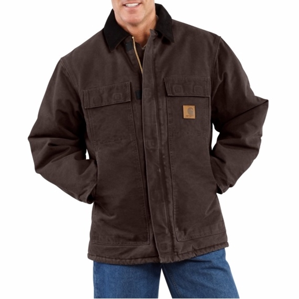 Carhartt - Men's Standstone Traditional Coat / Arctic Quilt-Lined