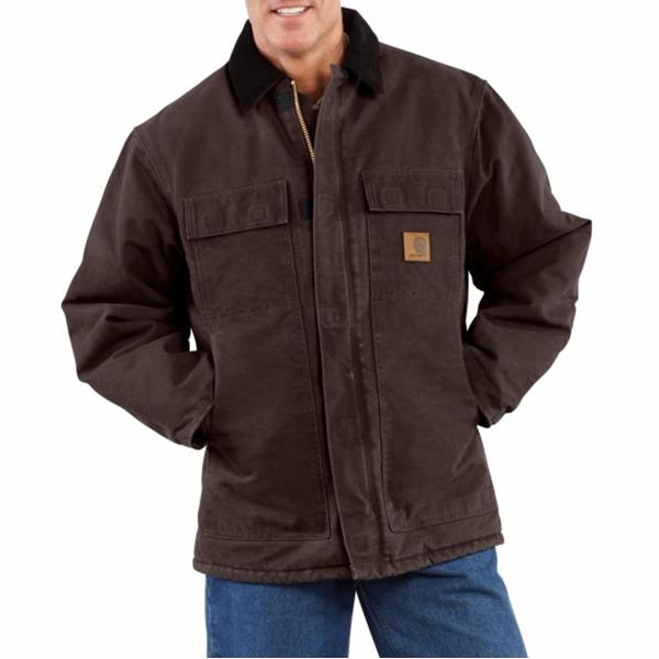 Carhartt - Men's Standstone Traditional Coat / Arctic Quilt-Lined