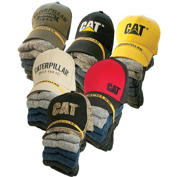 Caterpillar - Ensemble casquette et 6 paires de bas
