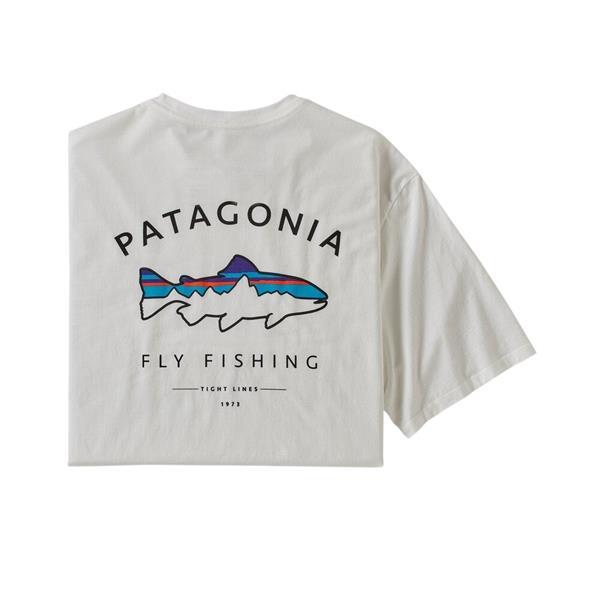 Patagonia - Chandail à manches courtes Framed Fitz Roy troute pour homme