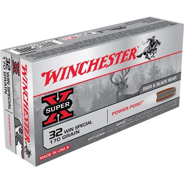 Winchester - Balles Super X .32 WIN Special 170gr