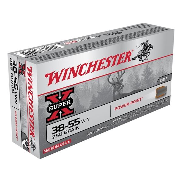 Winchester - Balles Super-X 38-55 Winchester 255 GR.