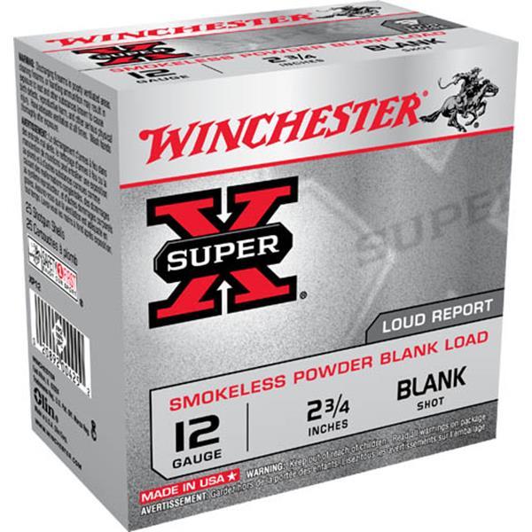 """Winchester - Cartouche à blanc Super-X 12 Ga 2 3/4"""""""