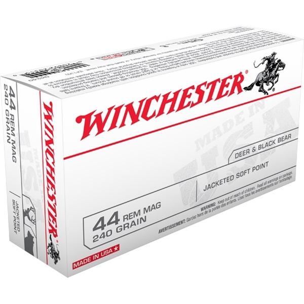Winchester - Balles Pistol .44 Remington Magnum 240gr