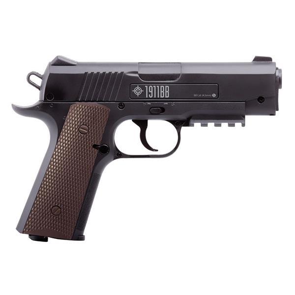Crosman - Pistolet à air comprimée 1911BB semi automatique, calibre .177
