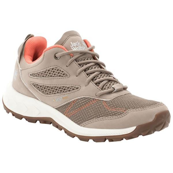Jack Wolfskin - Chaussures Woodland Vent Low pour femme