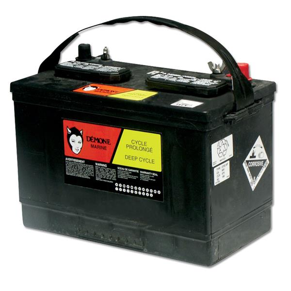 Démone - 12 Volts RV27  Deep-cycle Battery