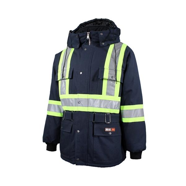 10/4 Job - Manteau de travail avec bandes réfléchissantes 89-150-1-REF
