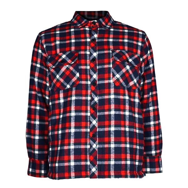 GKS - Veste de travail doublée style chemise 25-16-QL